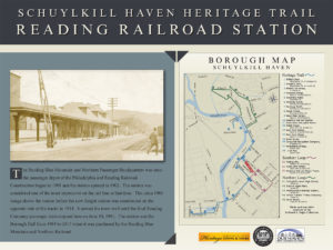 Schuylkill Heritage Trail Interpretive sign