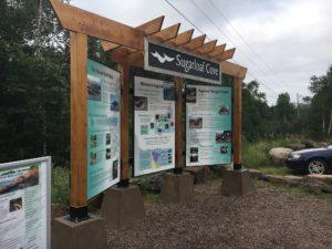 Frames for Upright Wood Kiosk