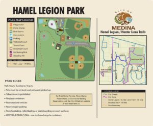 Hamel Legion Park Map Panel