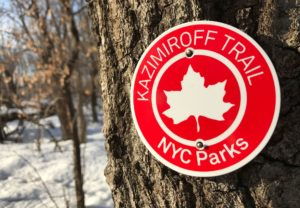 NYC Screen Printed Parks Trail Blazers / Marker