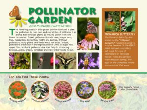 Semi-custom Pollinator Garden Sign