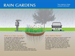 Standard Rain Garden Sign #3