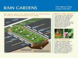Standard Rain Garden Sign #5