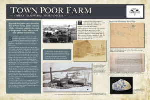 Hanover Poor Farm Interpretive Panel
