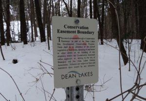 Conservation Easement Boundary Marker